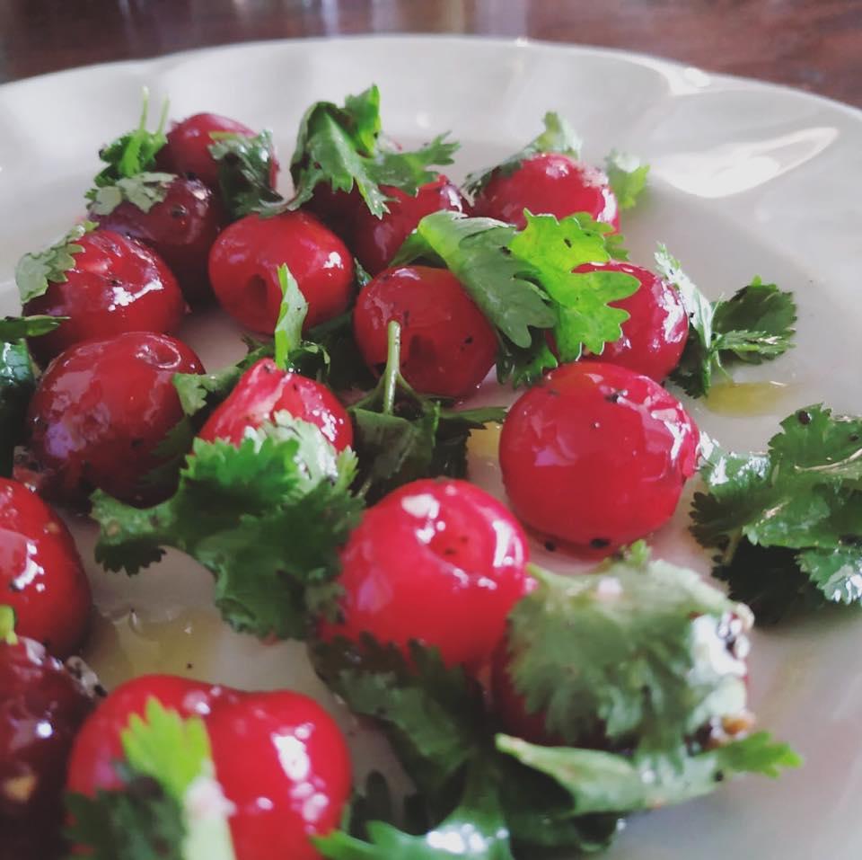 """Lali's Cherry Salad"", courtesy of Habasta"