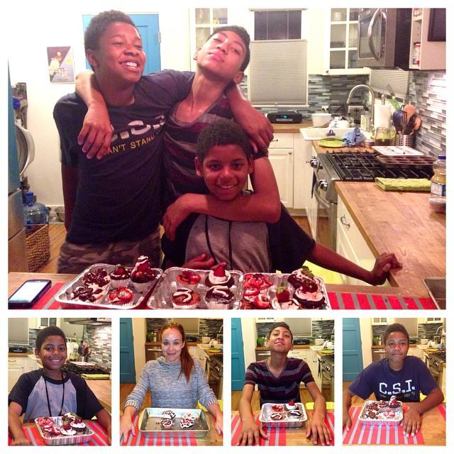 Cupcakes on Clyde 😋🍥  #clydecrew #cupcakes #yummm  #madeoneformingo