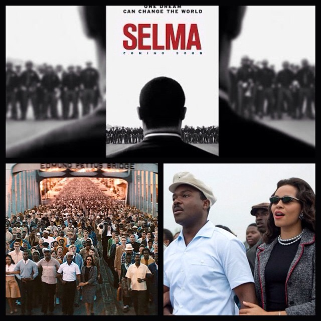 """Just saw the screening of the film """"Selma"""" - As Common put it, Director Ava Duvernay is a woman that has great talent, taste, and leadership. A must see! #Selma #DrMartinLutherKing #equality"""