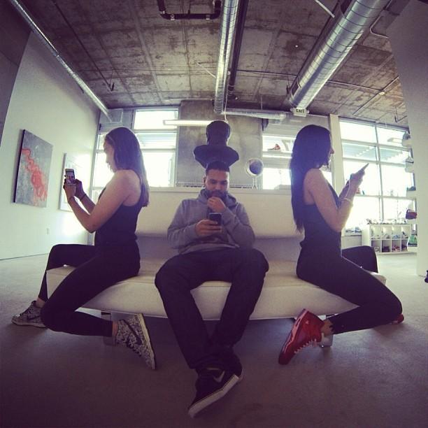Instagram Addiction x3 @aubrymarie & @rswdsd Dante of  Rosewood {Amor Dunks, Jordan Retro 5s}