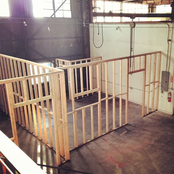 going to be moving my art studio downstairs #newperspective #newtools #newartprojects thank you @mattdevineart