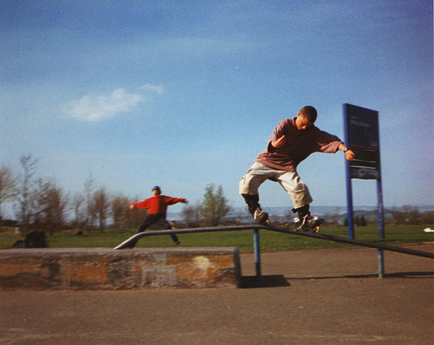 Royale at Stirling Skatepark
