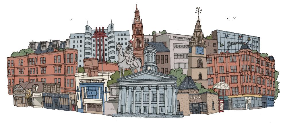 Glasgow Illustration