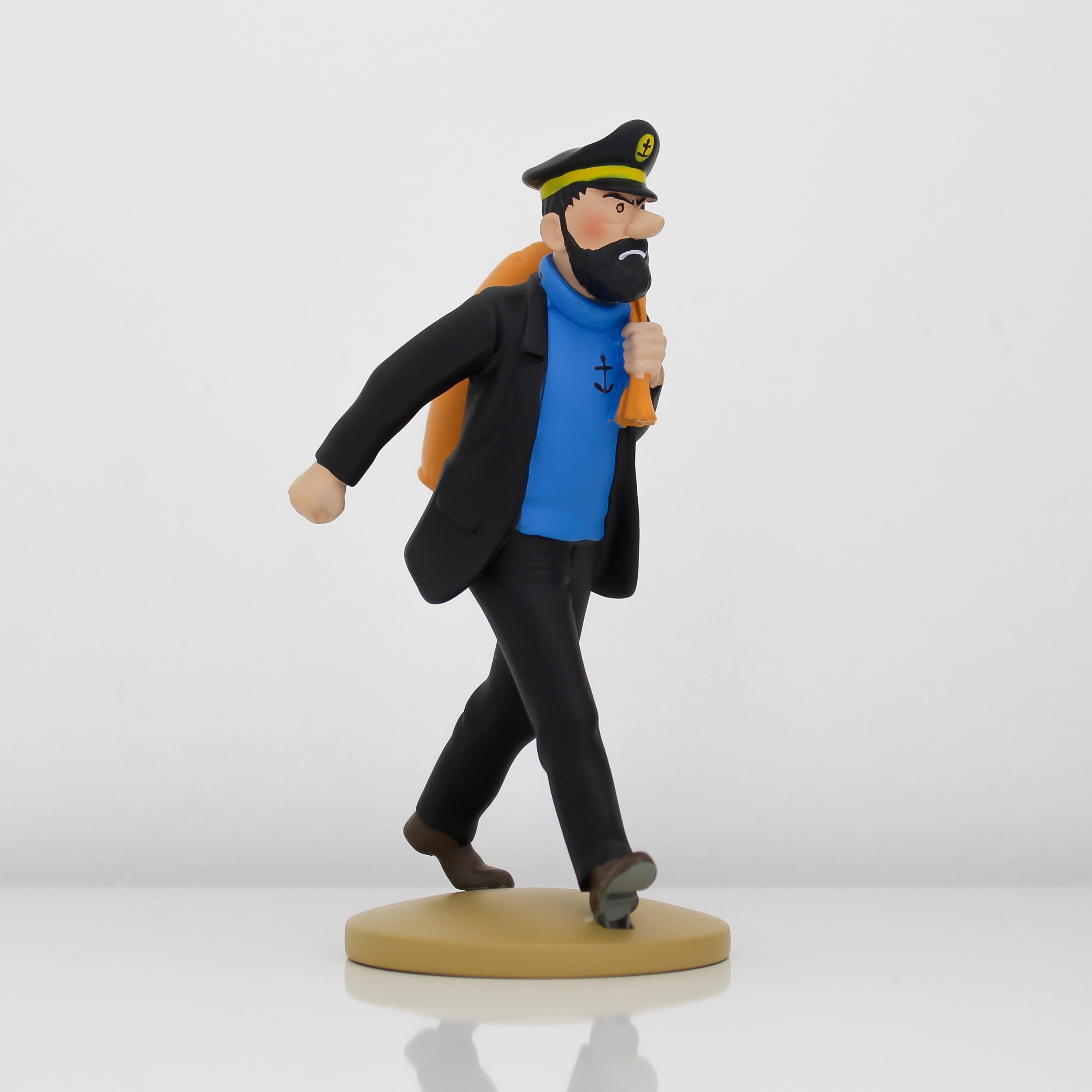 Captain Haddock en route