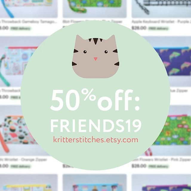 Friends, family, and fans: I have a lot of inventory left on Etsy so I am offering 50% off EVERYTHING. If you live nearby I am happy to sell in-person to avoid shipping. I have even more stuff not listed on Etsy, so come check it out!