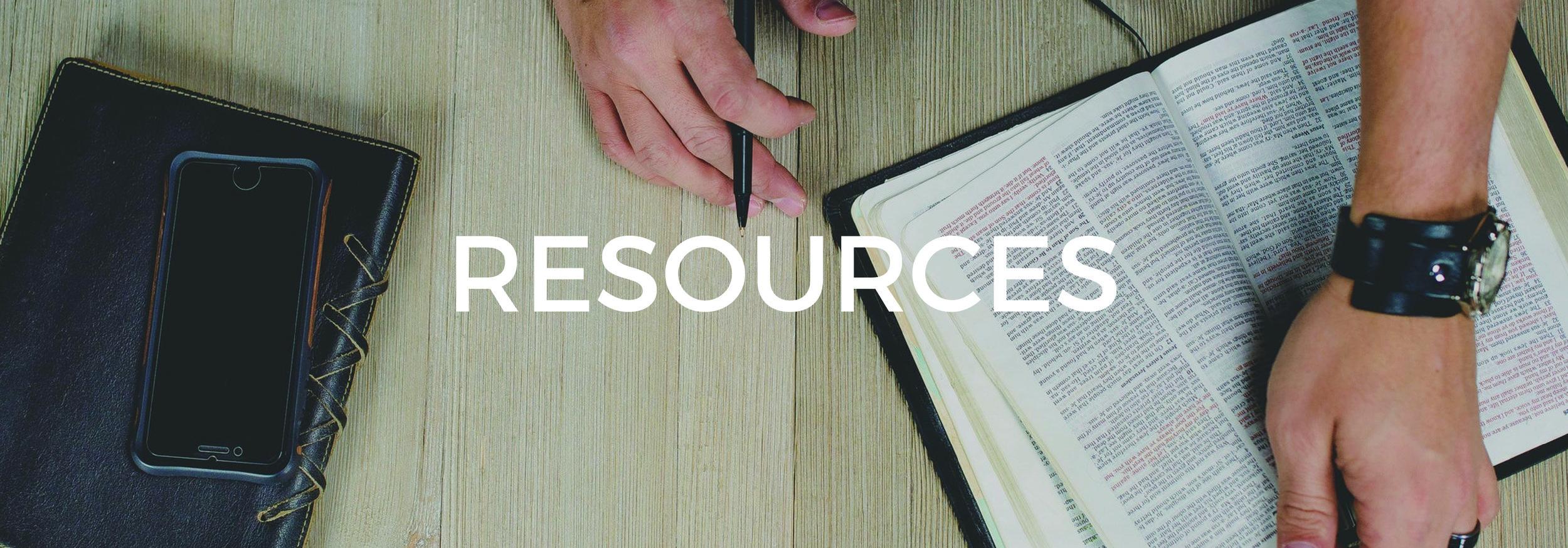 Discipleship Resources — Faith Community Church