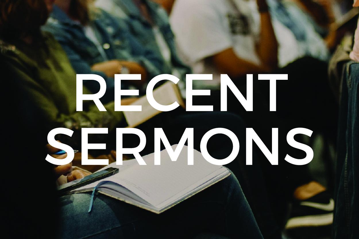 Most Recent Sermons