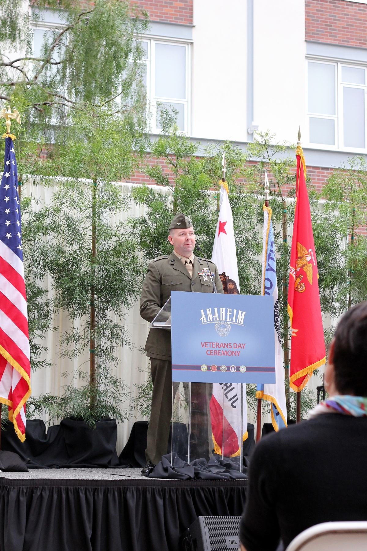 City of Anaheim Veterans Day Ceremony - Museo. Anaheim, CA 2011