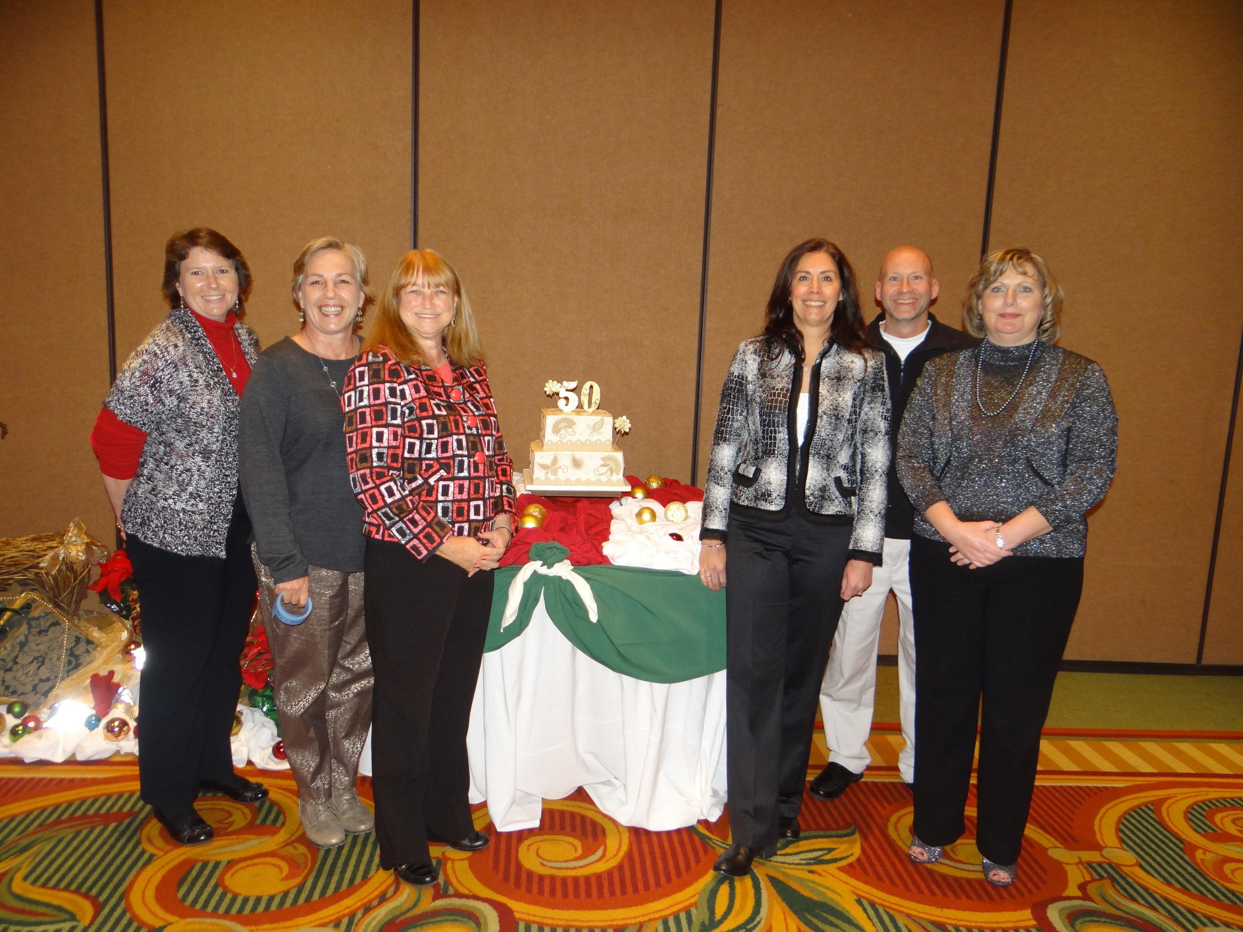 The RIMS Board Members celebrating the 50th Anniversary.