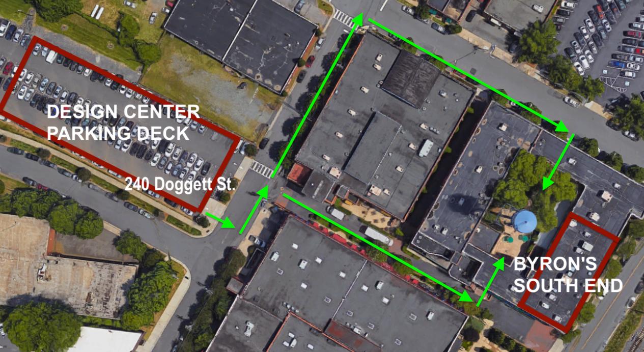 Byron's South End Parking Info