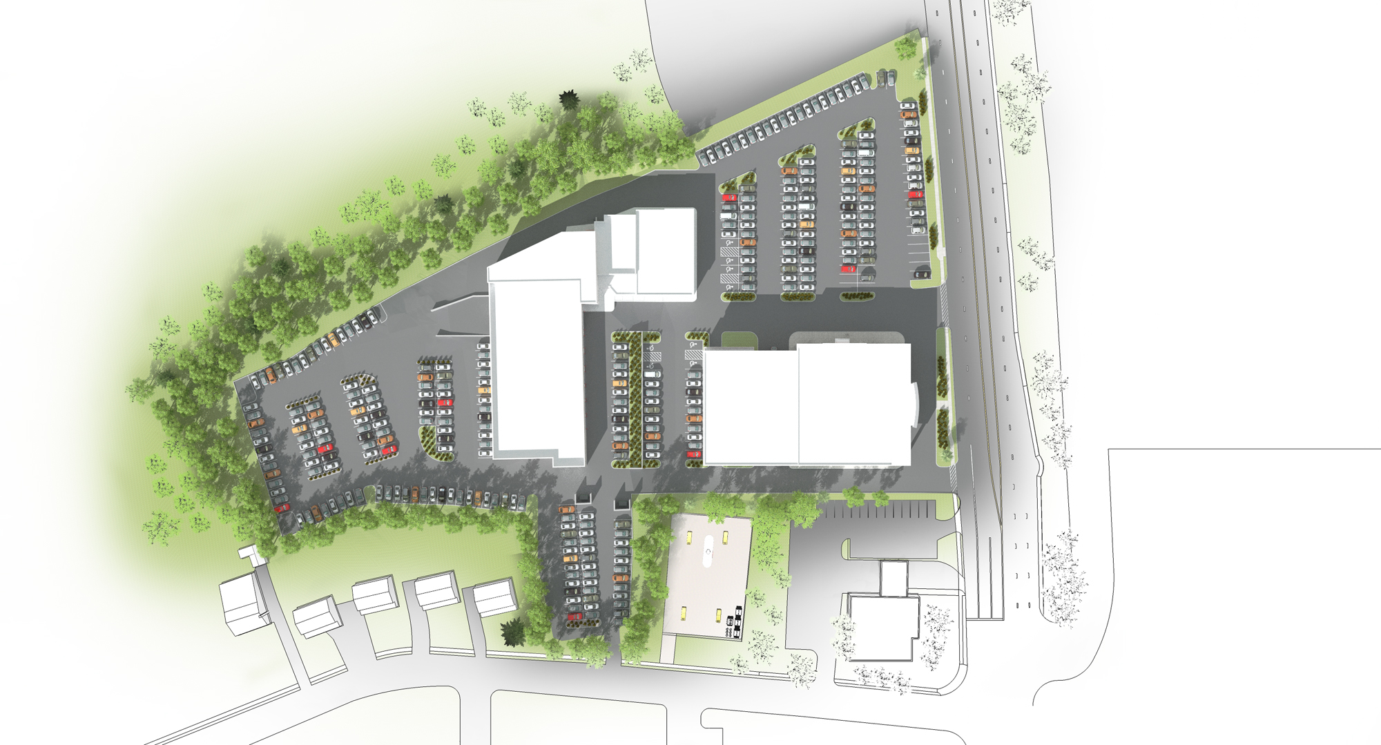 Conicelli Toyota Springfield Facility Plan