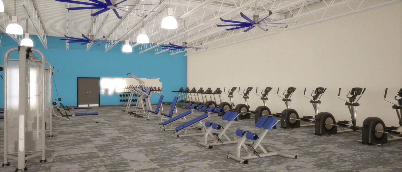 Fitness Center for Tenant Fit-Out Study