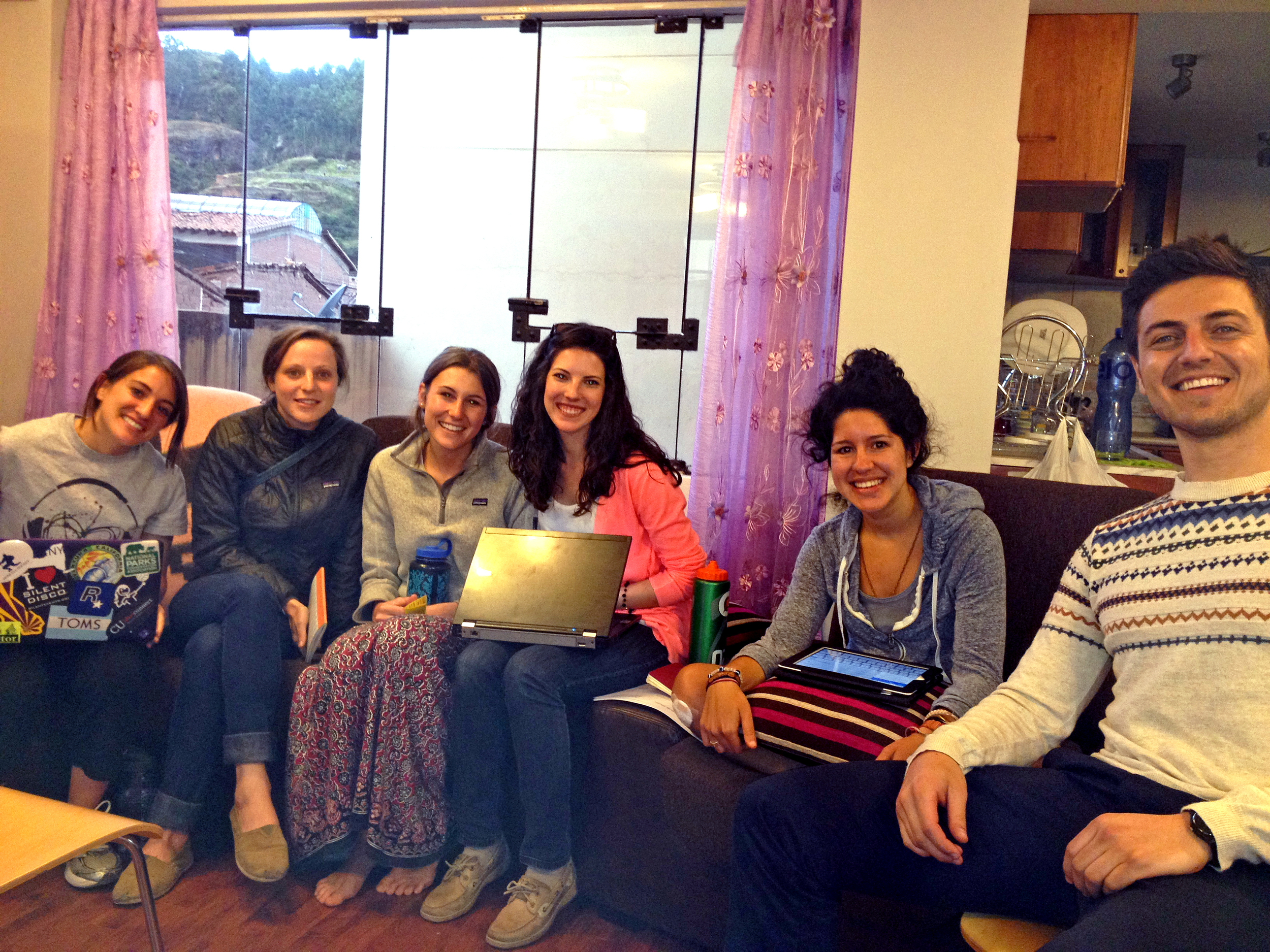 One of our team training sessions on how to approach, recruit, and enroll moms into our study. Photo taken: May 23, 2013.