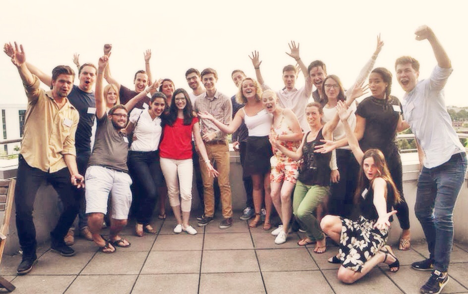 Thanks for such a fun and informative consulting 101 workshop yesterday,  McKinsey & Company Karriere  , and thanks for making it happen,  180 Degrees Consulting Berlin  !    Photo courtesy of: 180 Degrees Consulting Berlin. Photo taken: August 1, 2014.