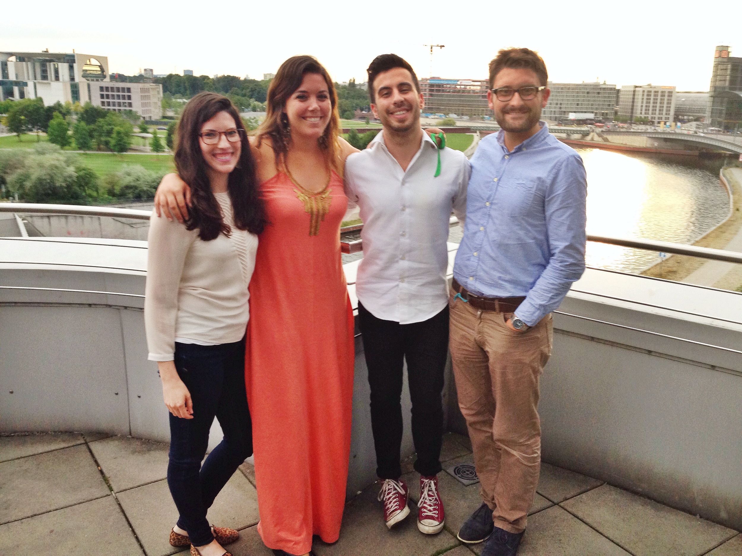 Congrats to our  180 Degrees Consulting Berlin  team on a great final presentation last night! We appreciate their recommendations on how we can achieve our full potential and save more babies' lives through timely vaccination.   Photo taken: August 4, 2014.