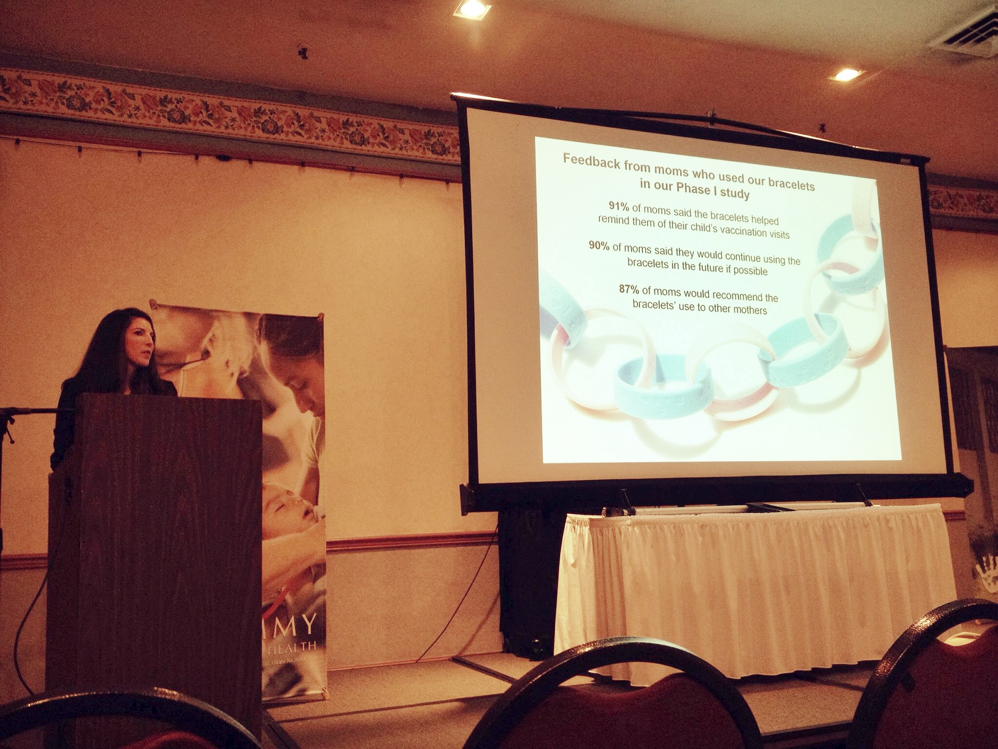 Over the weekend, our founder Lauren Braun gave the keynote speech at  #TimmyCon15  , the annual conference of   Timmy Global Health  , another Indianapolis-based global health NGO. Her message: You don't have to wait to start having an impact on global health. Photo taken: September 14, 2015.