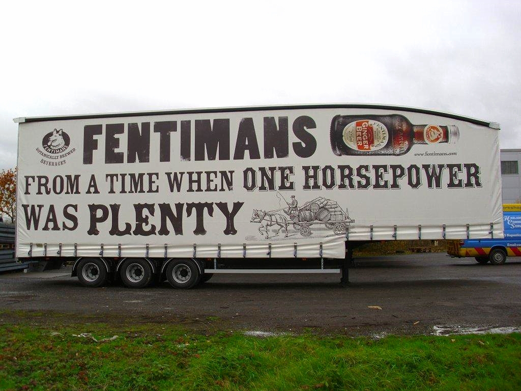 Fentimans Truck side