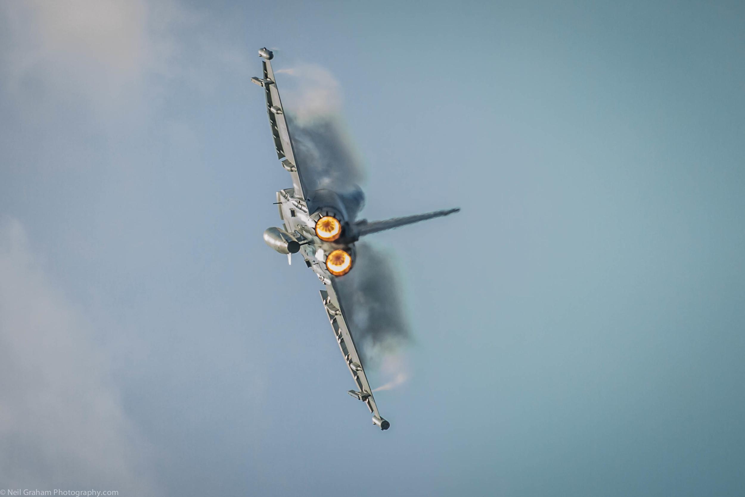 RAF Typhoon Display Team