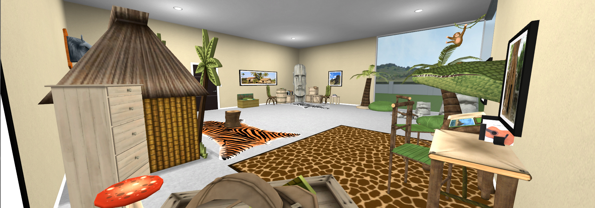 Contemporary Sunset - Kids' Room