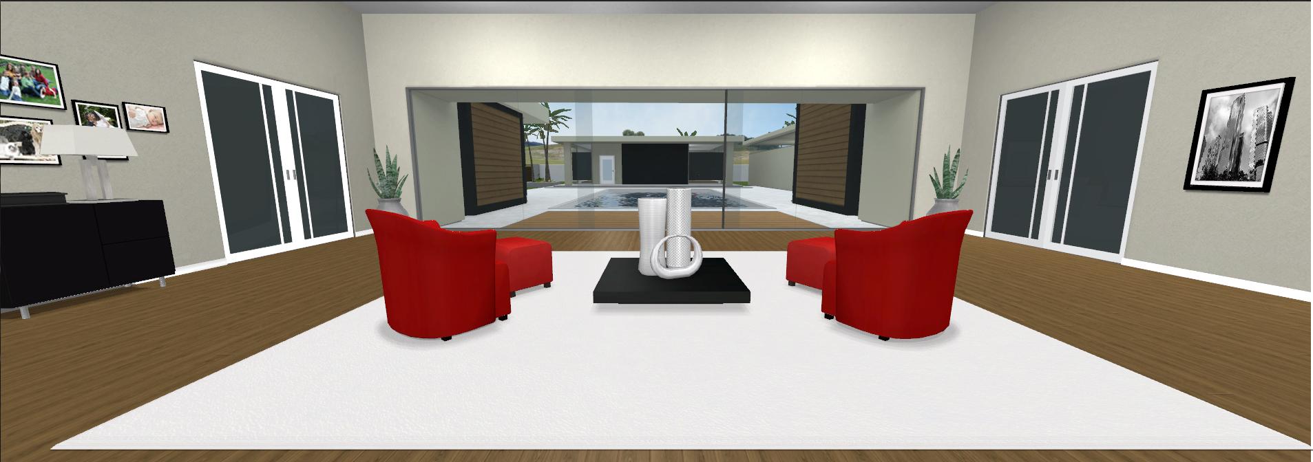 Contemporary Villa - Entryway
