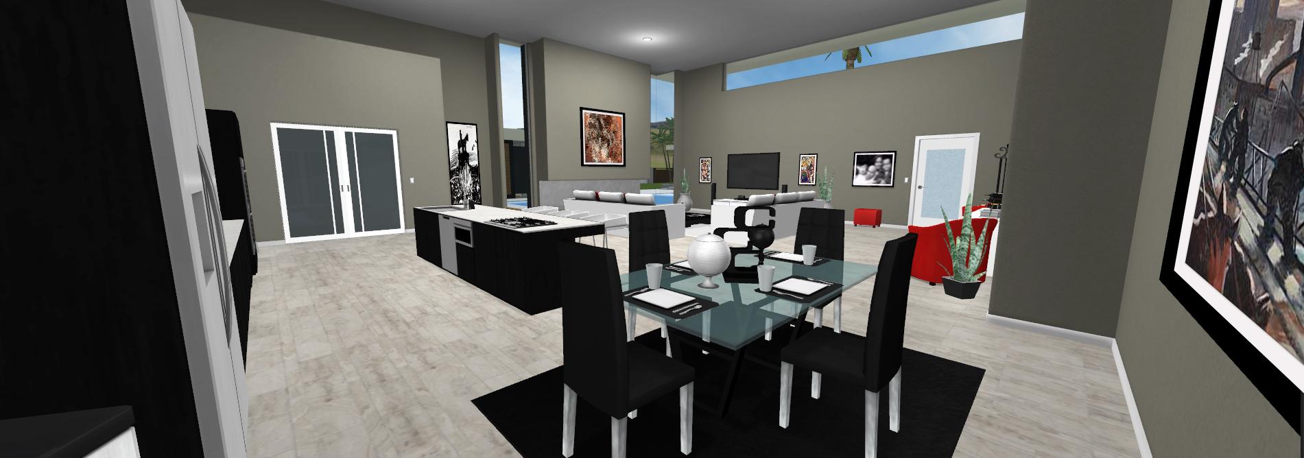 Contemporary Villa - Kitchen