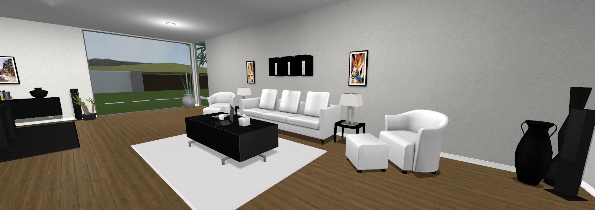 Contemporary Villa - Office