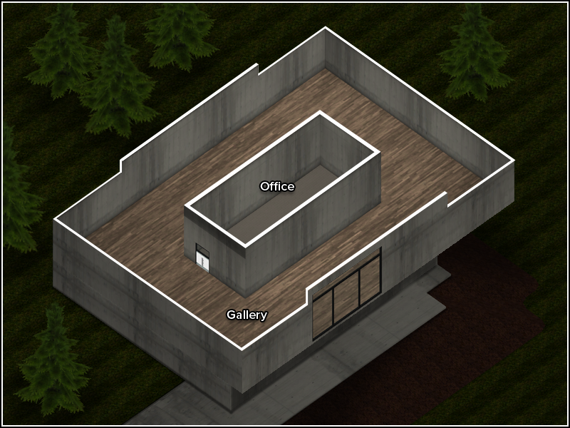 Mountain Modern Gallery - Floor Plan