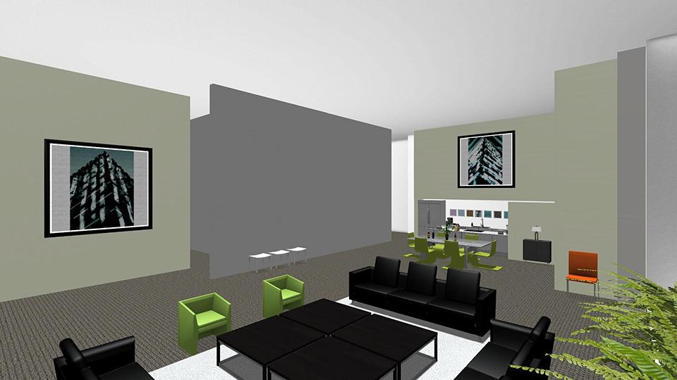 Contemporary Showroom 2 - Showroom Floor