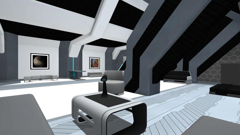 Space Crew Quarters - Living Quarters
