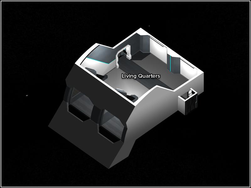 Space Crew Quarters - Floor Plan