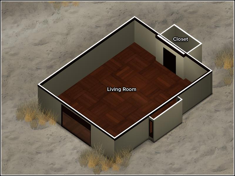 Beach Bungalow - Floor Plan