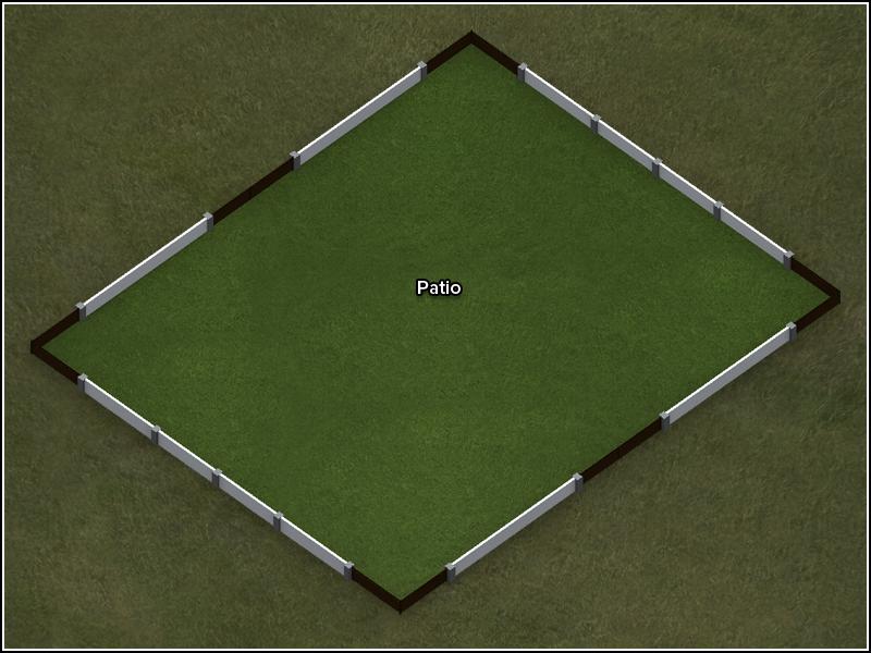 Outdoor Sandbox - Floor Plan