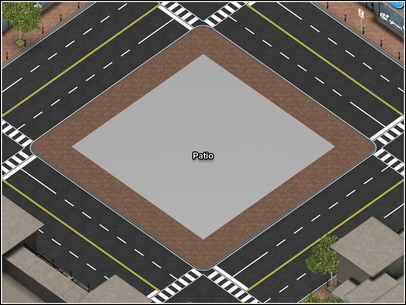Empty Urban Lot - Floor Plan