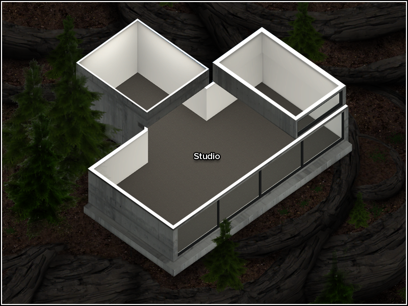 Studio Lot - Floor Plan