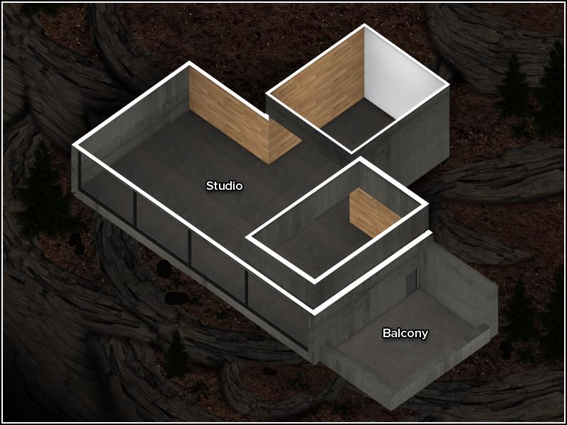Mountain Lot - Floor Plan