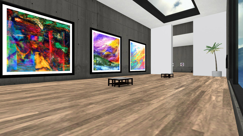 Urban Gallery - One of sixteen available 3D living spaces