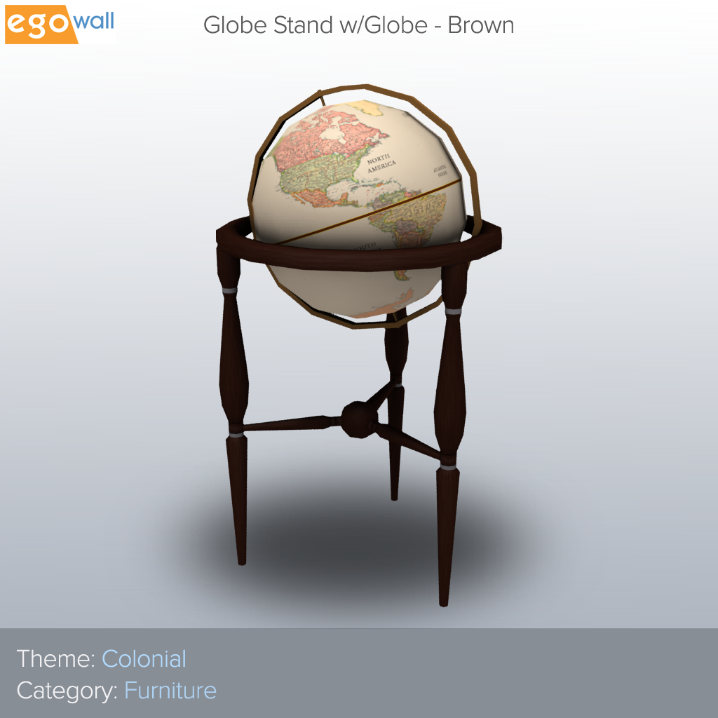 Globe Stand w/Globe