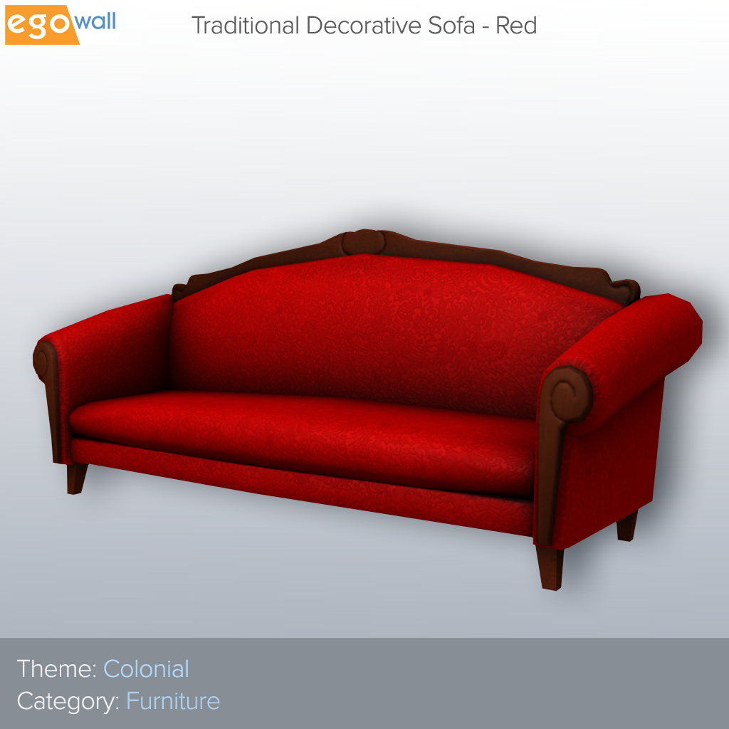 Traditional Decorative Sofa