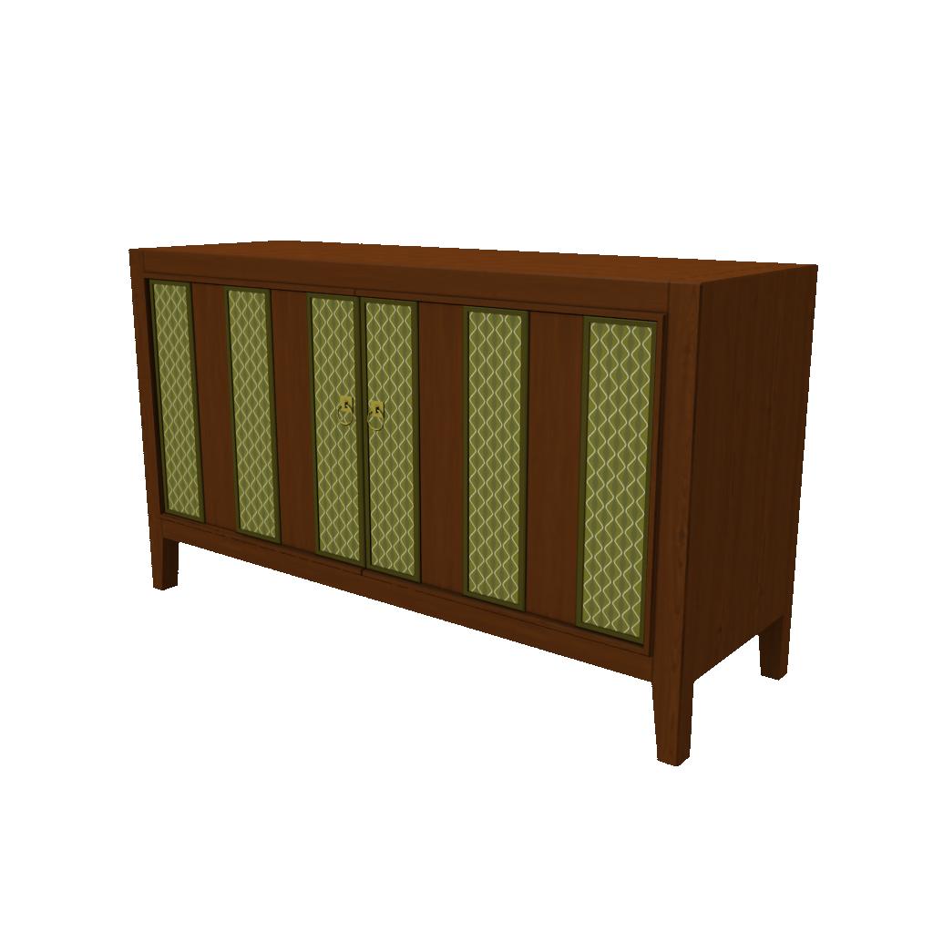 Retro Console Cabinet