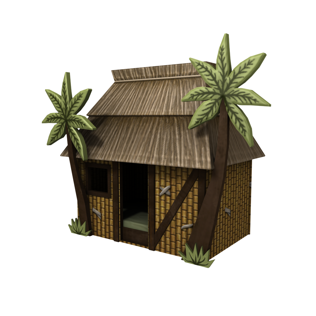 Jungle Hut Bed