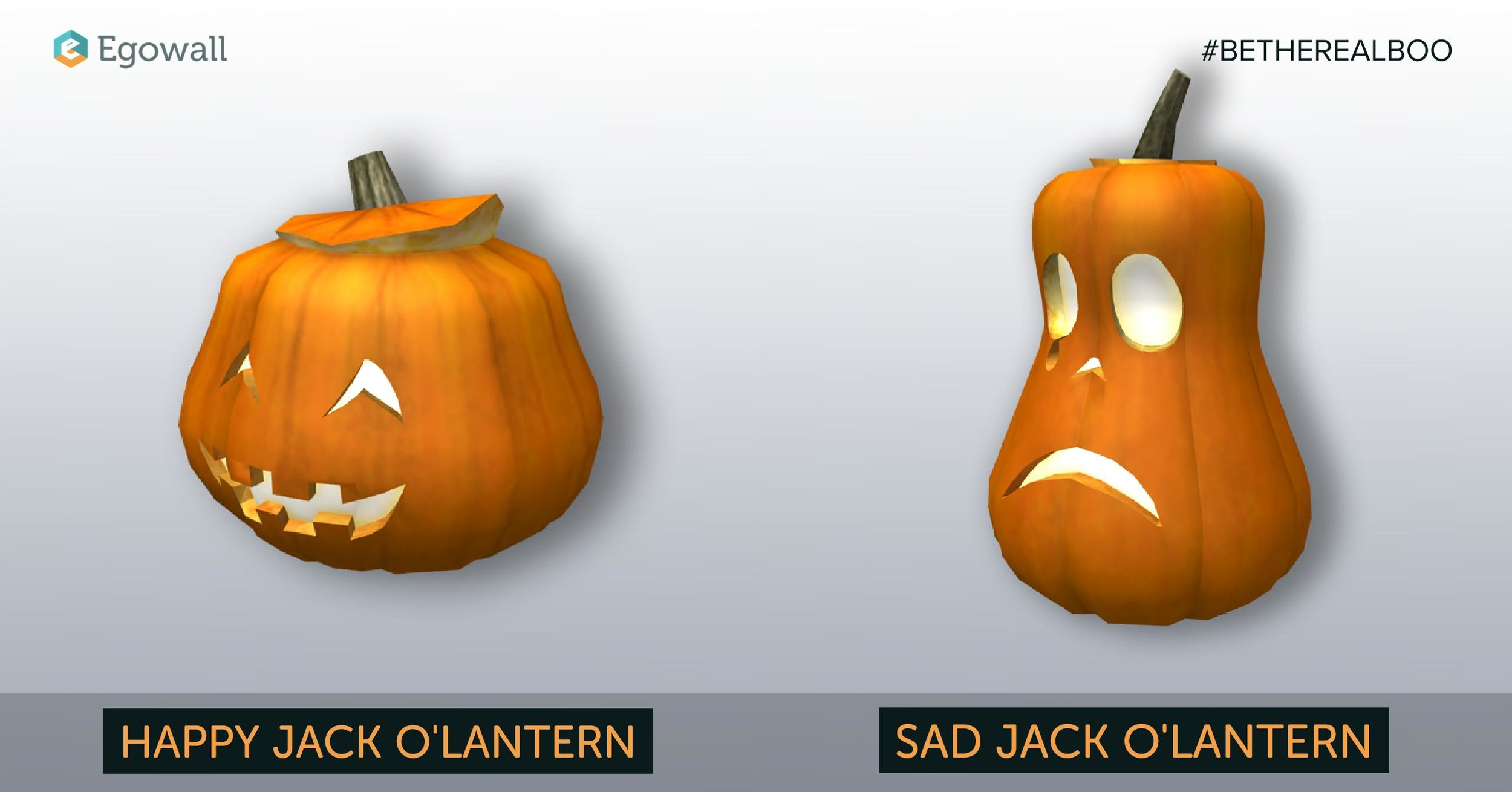 Two of Our Three Jack O'Lantern Assets