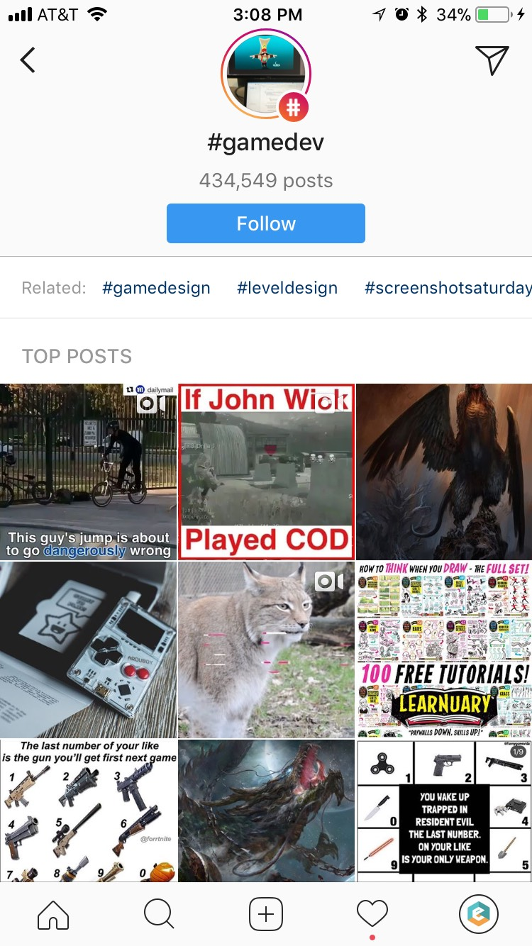 Instagram - Hashtag Follow 2.png