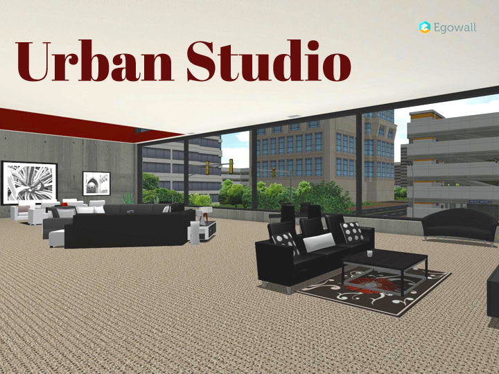 Urban Studio Living Space Beauty Shot