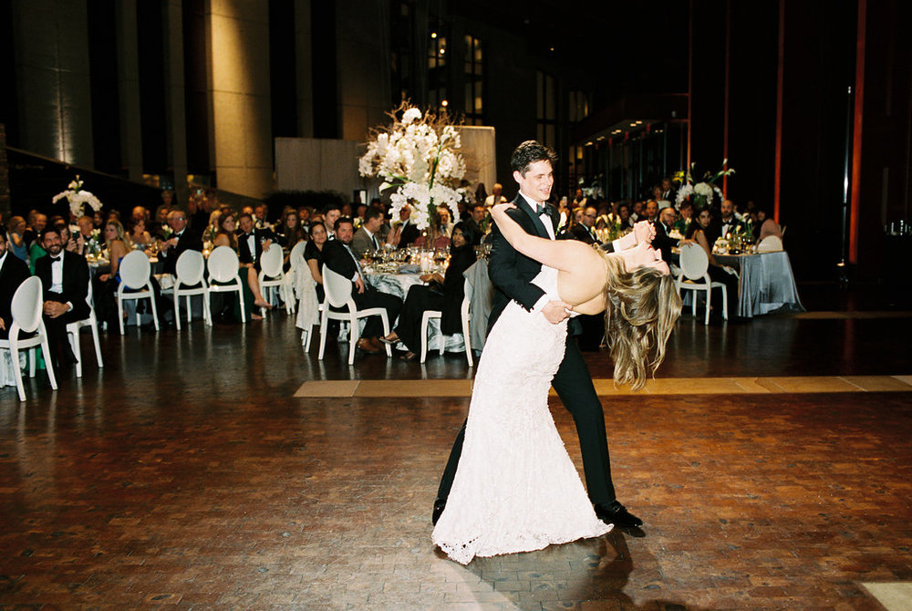Real Wedding - Horne Wedding at Country Music Hall of Fame in Nashville, TN. Wedding planning and design by Big Events Wedding.