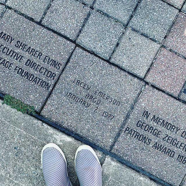 Born and raised y'all!! I'm on the E. Main Walk of Fame right in front of the itty bitty building that was first occupied by Dr. McPhail during the Civil War. I wonder how many ghosts have flown over my little brick! 👻 @heatherargo | @visitfranklintn | @visitfranklintn