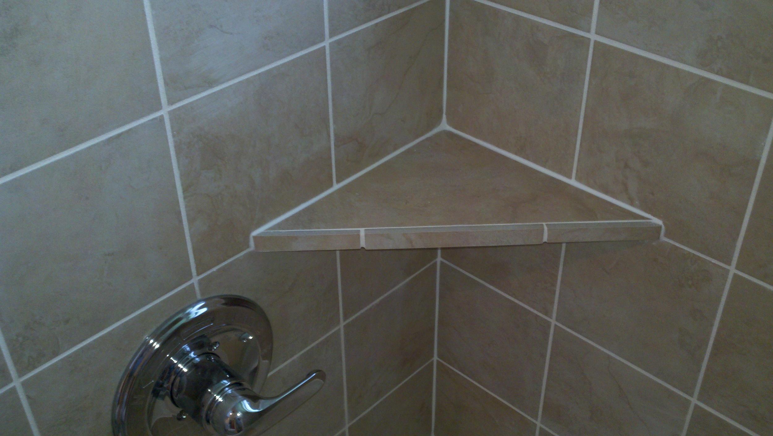 Mt Carmel Shower Bathroom remodel