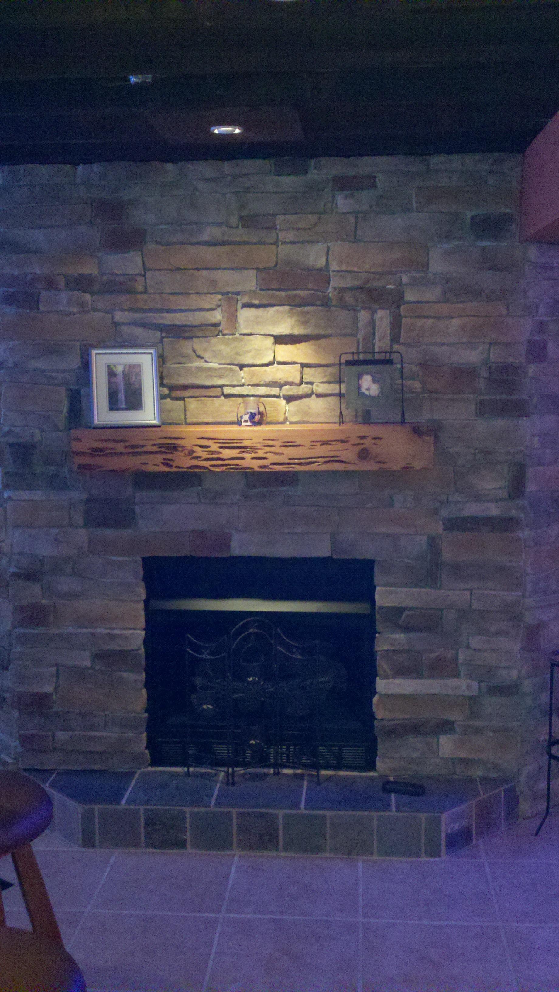 Summerside Fireplace stone work