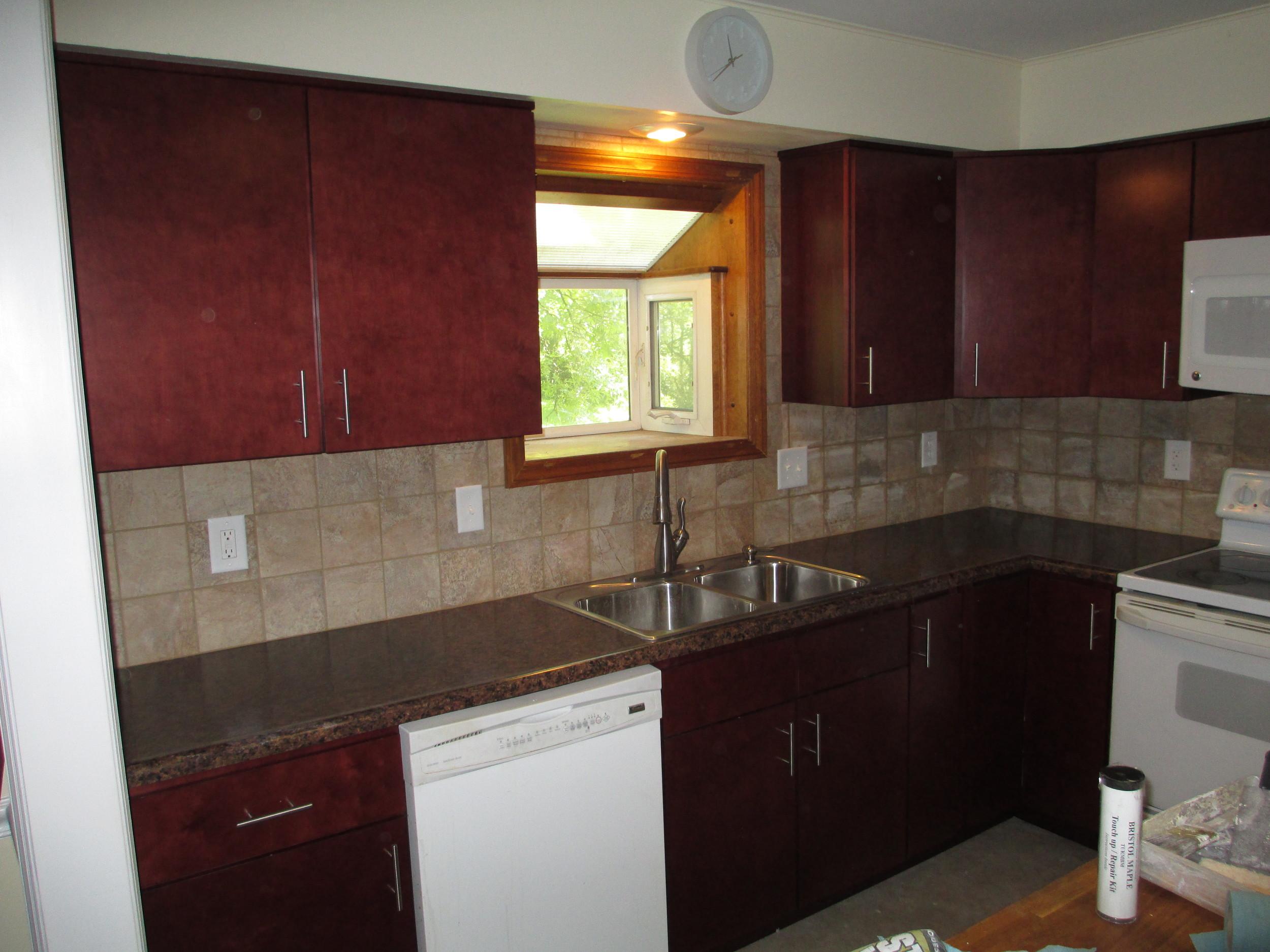 Evendale Kitchen Tile work