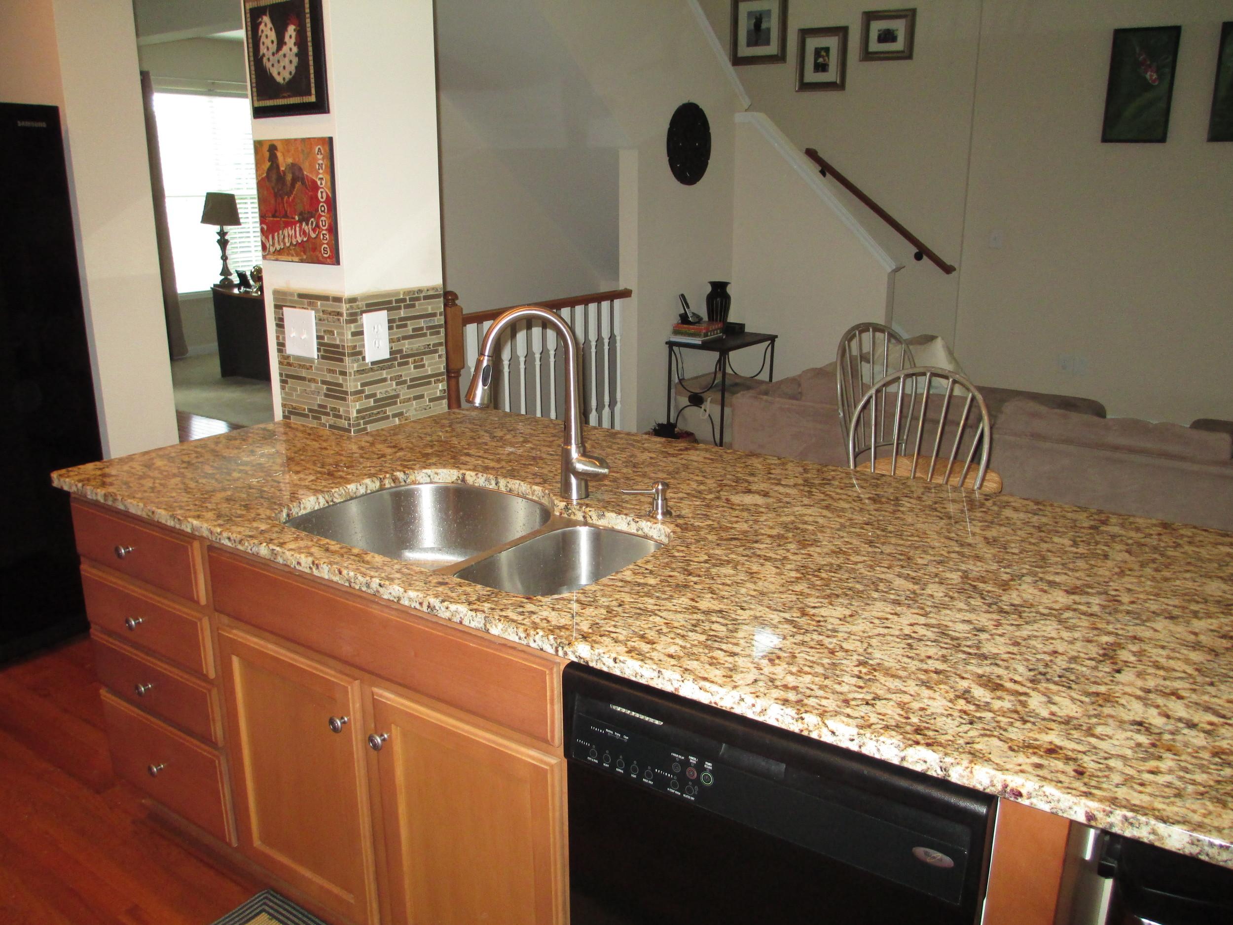 Woodlawn Custom Kitchen Island Install