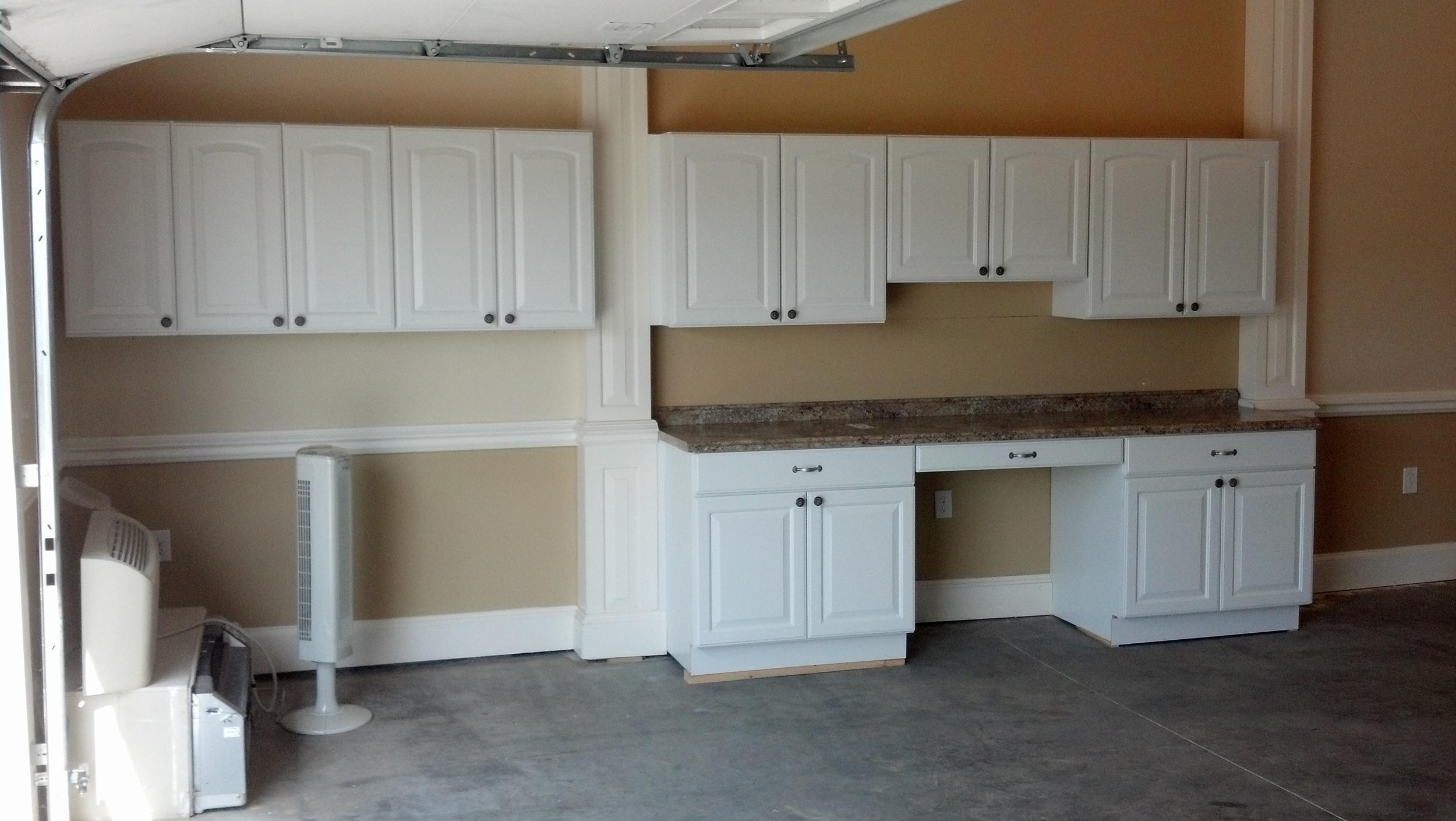 Goshen Garage Cabinets Installation